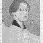 Helen Scherfbecks självporträtt