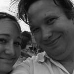 Jag och Andreas på Pont Neuf