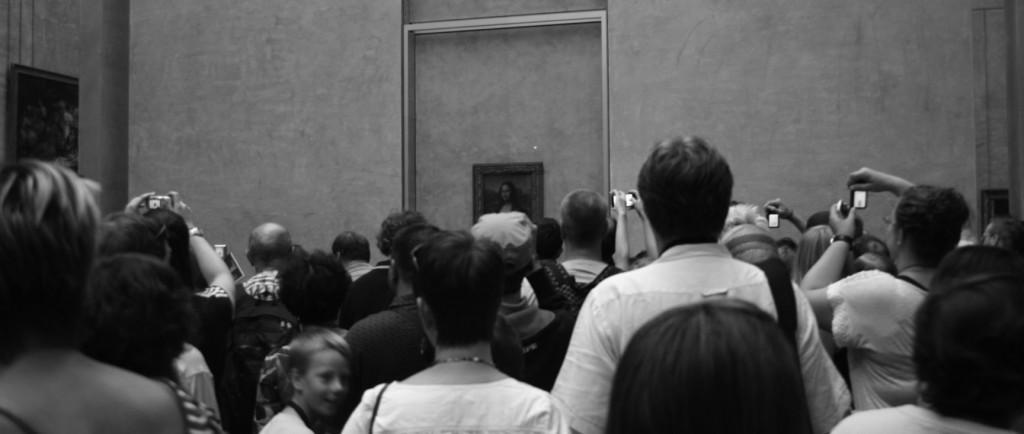 Mona Lisa och hysteriska turister
