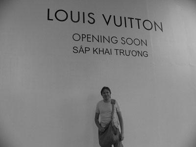Louis vuitton-butik öppnar snart