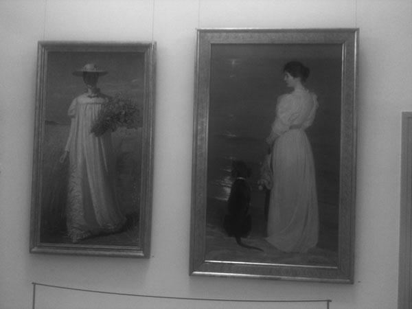 Som motiv: Anna Ancher och Marie Kröyer