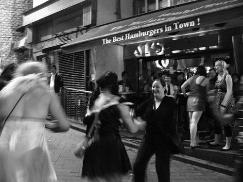 Dansar med en transa