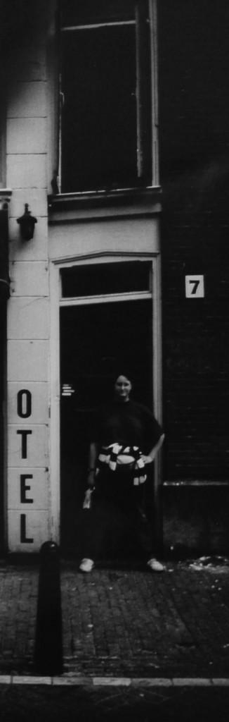 Världens smalaste hus i Amsterdam