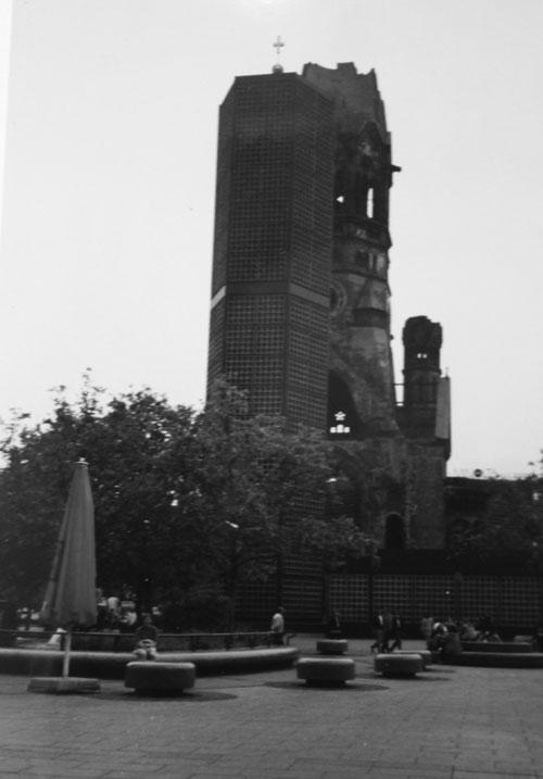 Gedächtniskirche i Berlin