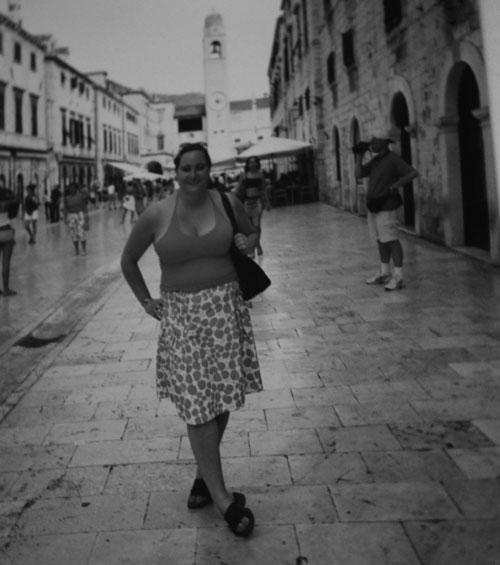 Jag i Dubrovnik