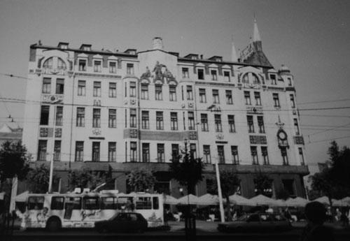 Hotel Moskva i Belgrad