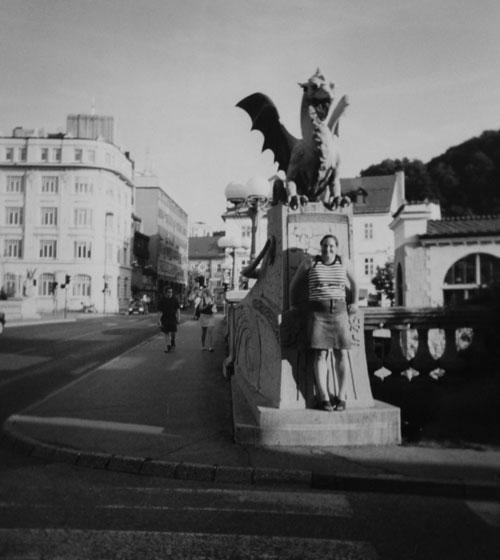 Jag i Ljubljana