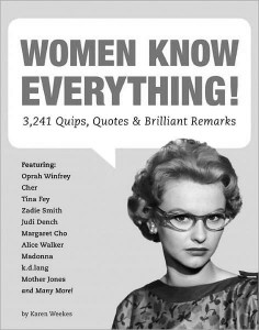 Women know everything