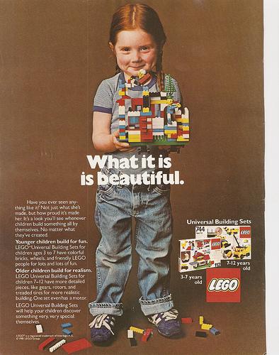Lego-annons från 1981