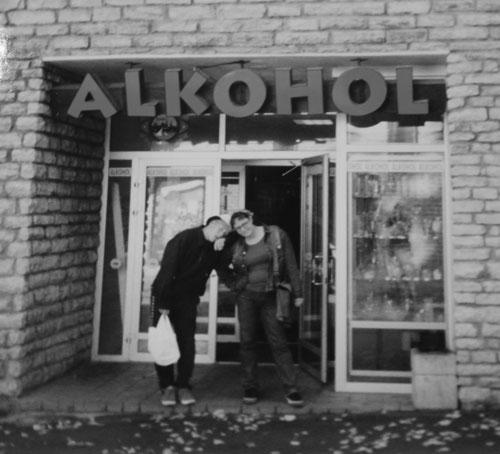 Alkohol-butik i Tallinn
