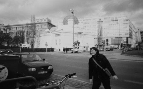 Seccession, jugendbyggnad i Wien
