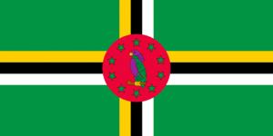 Dominicas flagga