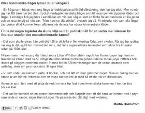Skärmdump Stockholms Fria Tidning