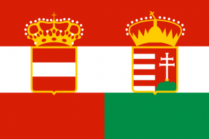 Österrike Ungerns flagga