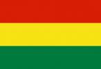 Bolivias flagga