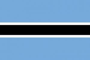 Botswanas flagga