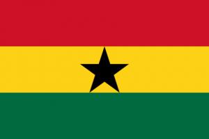 Ghanas flagga