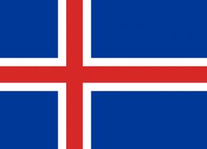 Islands flagga