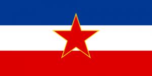 jugoslaviens flagga
