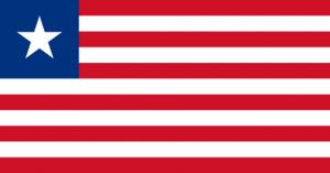 Liberias flagga