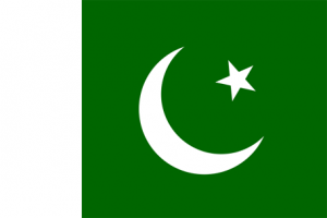 Pakistans flagga