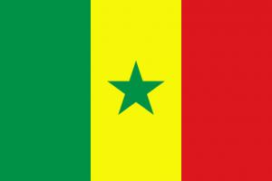 senegals flagga