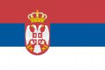 serbiens flagga