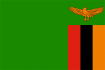 zambias flagga