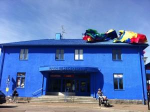 Det blå stationshuset i Vara