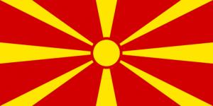 Makedoniens flagga