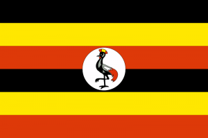 Ugandas flagga