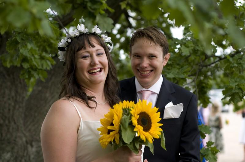 Hanna och Andreas bröllopskort