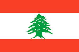 Libanons flagga