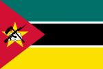 Moçambiques flagga