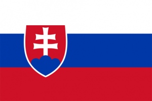 Slovakiens flagga
