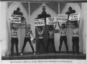 Tyska aktivister i Emma