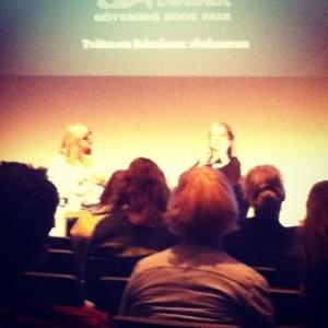 Marlene Streeruwitz talar om kvinnligt språk