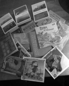 Böcker från Bokmässan 2013