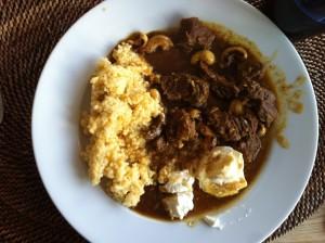 Kenyansk currygryta med hirs