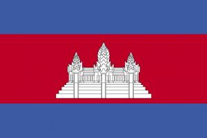 Kambodjas flagga