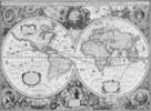 Gammal världskarta
