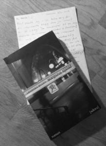 Sorgsna själar och ett handskrivet brev
