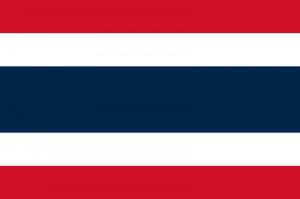 Thailands flagga