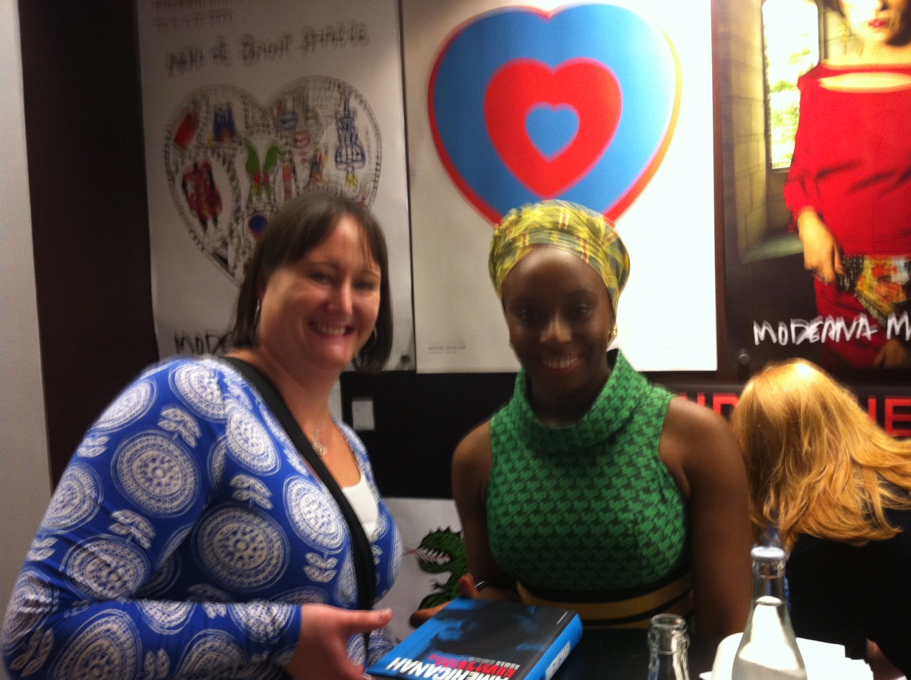 Jag och Chimamanda Ngozi Adichie