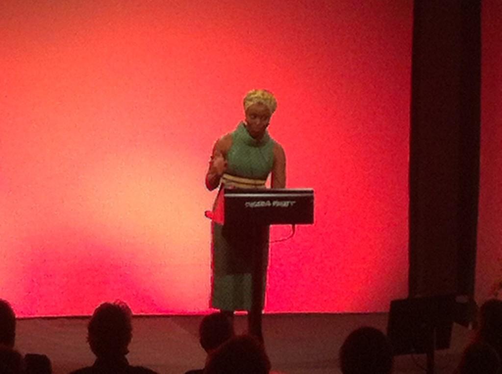 Chimamanda Ngozi Adichie talar på Stockholm Literature