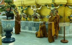Munkar i Bangkok