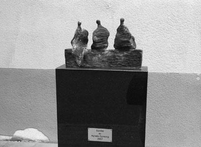 Agneta Gynnings skulptur Samtal