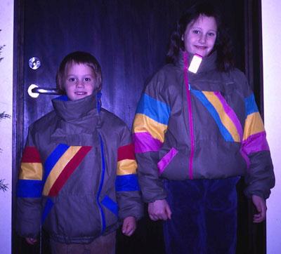 Hanna och Nils inför vintern 1986
