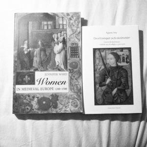 Böcker om medeltidens kvinnor