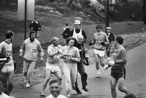 Kathrine Switrzer springer Boston marathon